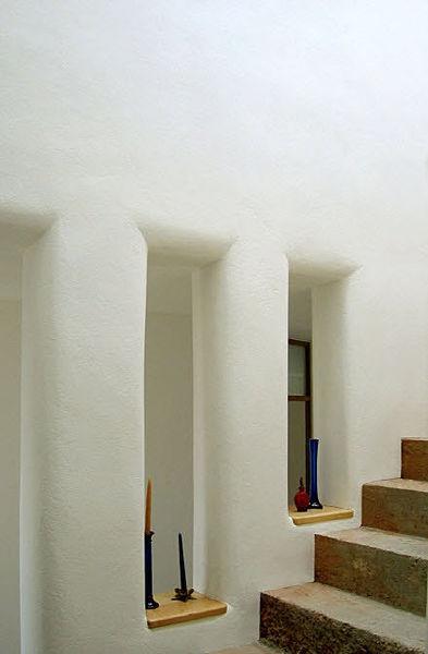 Pin by tiffany cox castillo on the handbuilt modern home pinterest - Decorative plaster walls ...