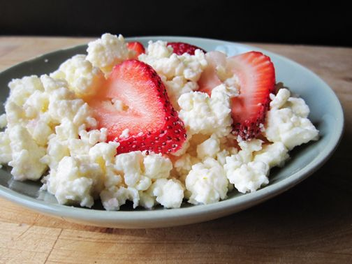 Homemade Cottage Cheese | Say Cheese, Please | Pinterest