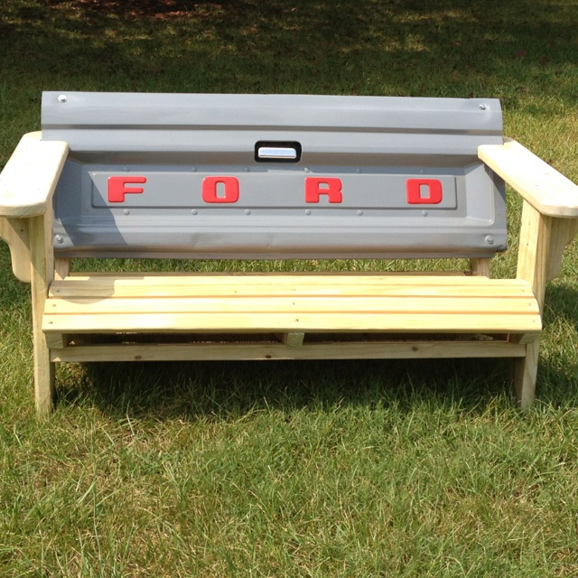 Ford Tailgate Bench Benches amp Auto Repurposed