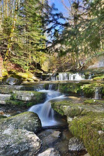 Cascades du hérisson france