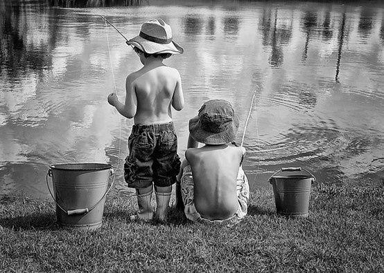 Cute kids little boy fishing summer for Little boy fishing