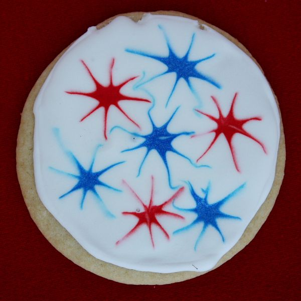 Fireworks Cookies | Recipe