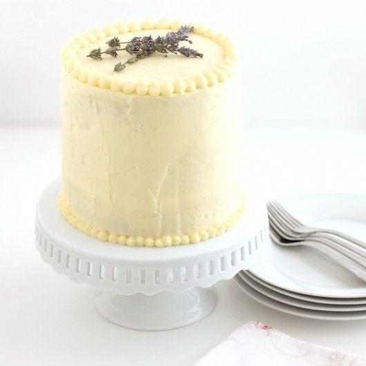Triple-Lemon Layer Cake Recipe — Dishmaps