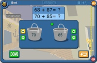 Differentiated math games for 2nd grade math stations pinterest