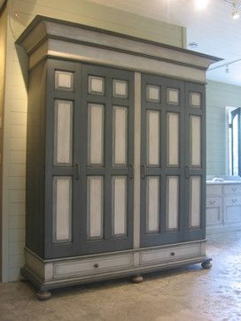 Pin by kathy williamson on armoires pinterest for Antique free standing kitchen cabinets