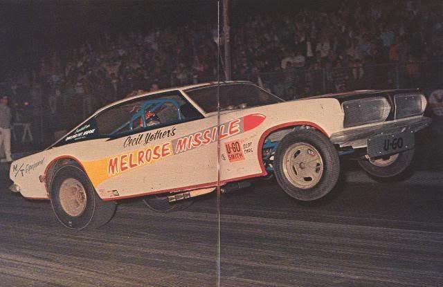 Melrose Missile Funny Car Wheel Stand Drag Races Pinterest