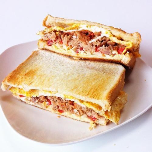 Yesterday's sandwich.Tuna sandwich! | Sandwich | Pinterest