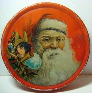 Odd ashen faced santa with japanese anime girl don t see that every