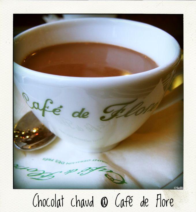 cafe_de_flore_chocolat_chaud | J'AIME LE CHOCOLAT | Pinterest