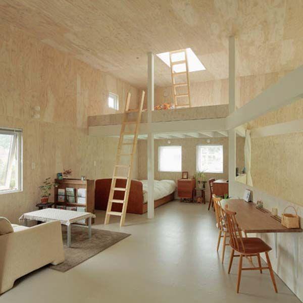 Minimalist home mezzanine floor design warehouse pinterest - Best cottage house plans minimalist ...