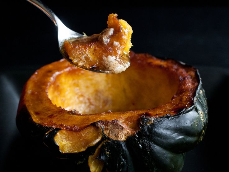 Roasted Acorn Squash   Recipes   Pinterest