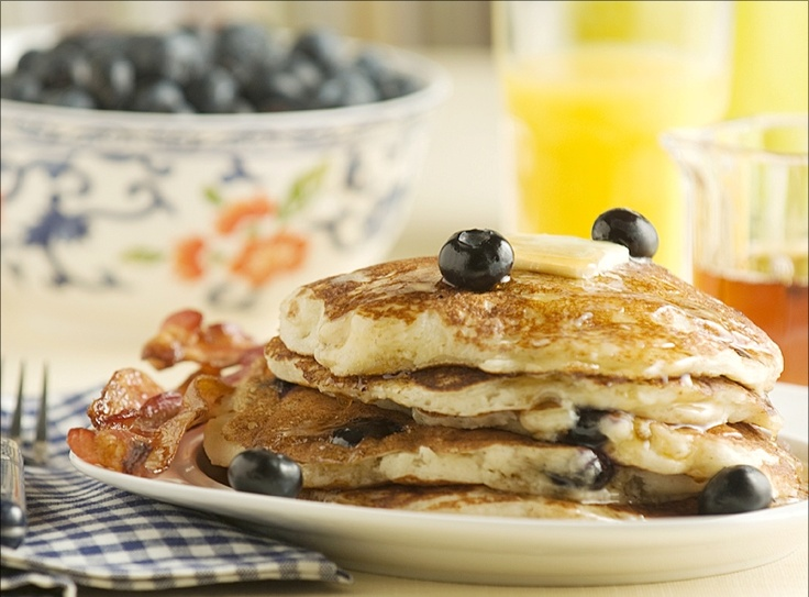 Blueberry Buttermilk Pancakes | Most Important Meal Of The Day | Pint ...
