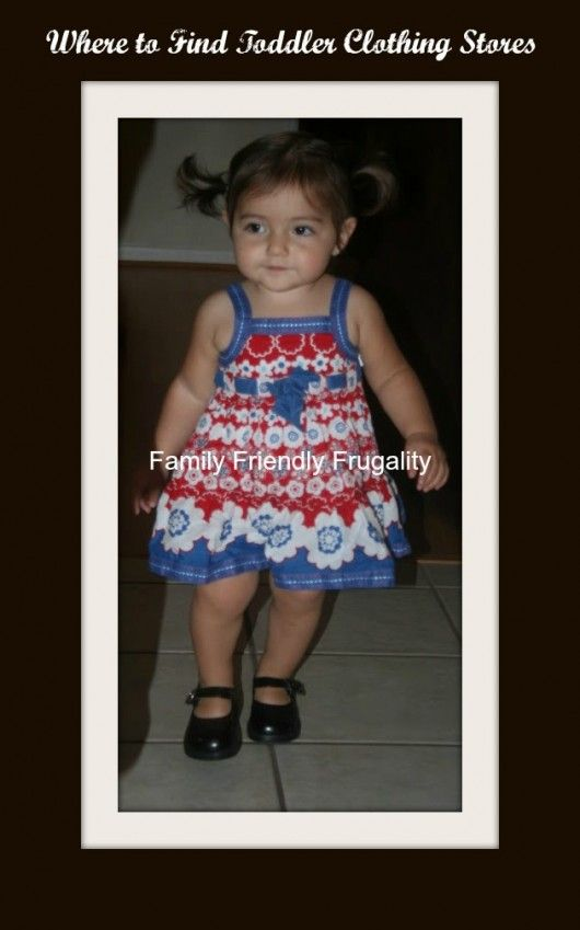 Where to Find Toddler Clothing Stores