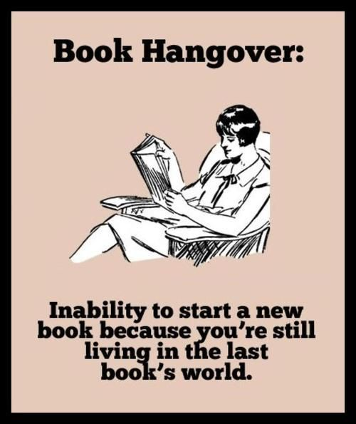 The Hunger Games...I just finished the trilogy a second time.  The hangover is worse.