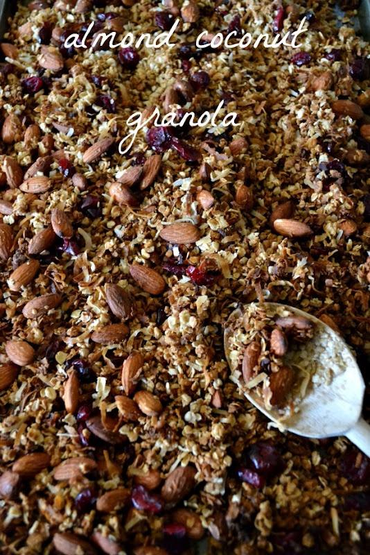 almond coconut granola | Yummy Num-nums | Pinterest