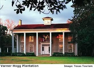 Varner-Hogg Plantation House in Brazoria, County. One of the BEST Texas antebellum homes ever.