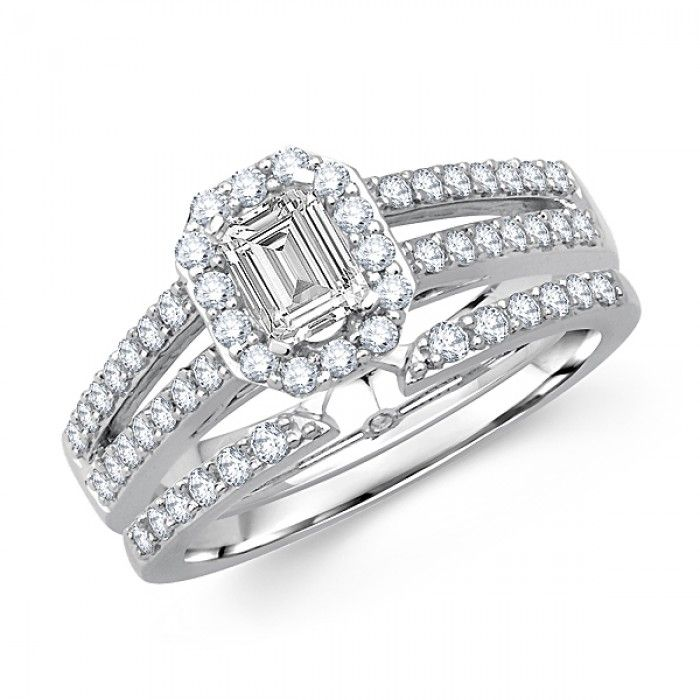 ... Wedding-Ringsprincess-cut-diamond-bridal-wedding-set