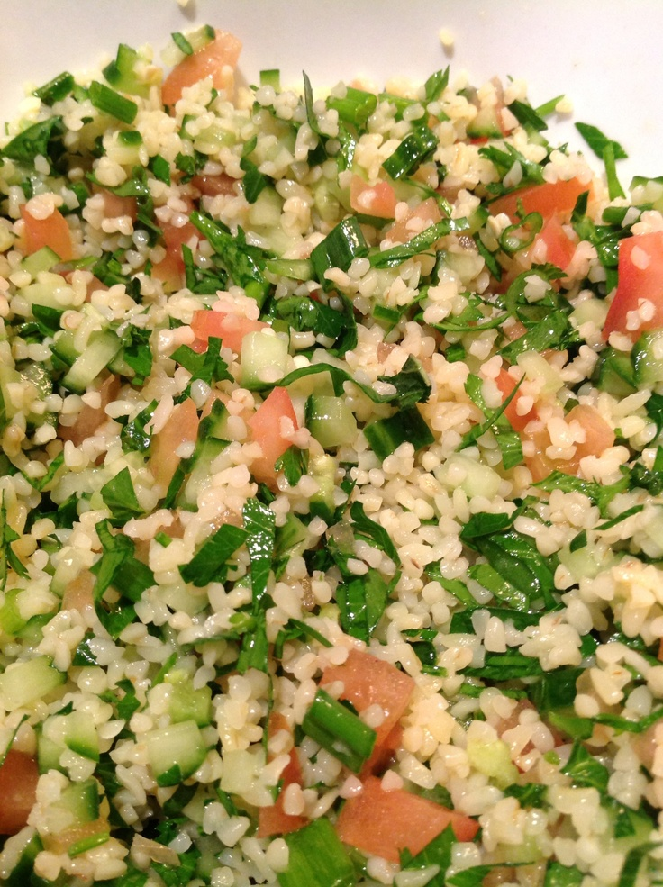 Tabbouleh Salad | Salads, greens, colorful and tasty. | Pinterest