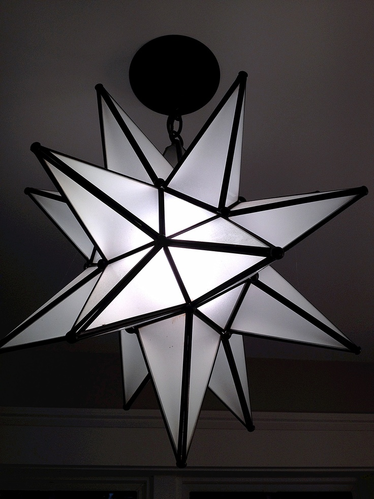 star light fixture moravian stars pinterest. Black Bedroom Furniture Sets. Home Design Ideas