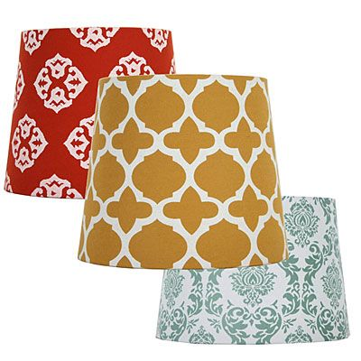 assorted lamps shades at big lots for the home