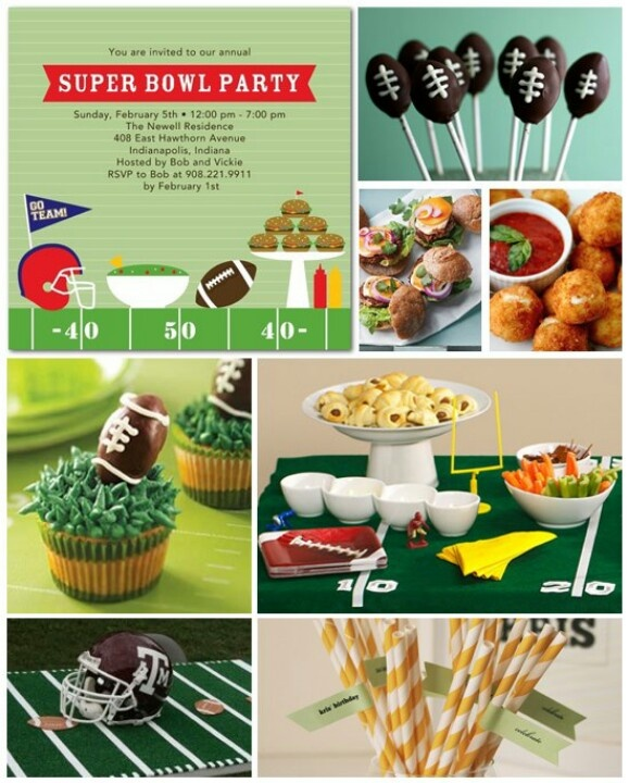 Super Bowl Party Ideas Reception Easy Entertaining