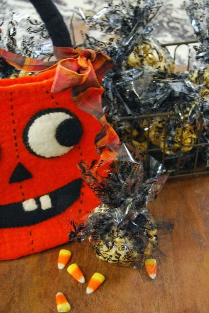 sugar and spice: popcorn ball recipe from A HARVEST AND HALLOWEEN ...