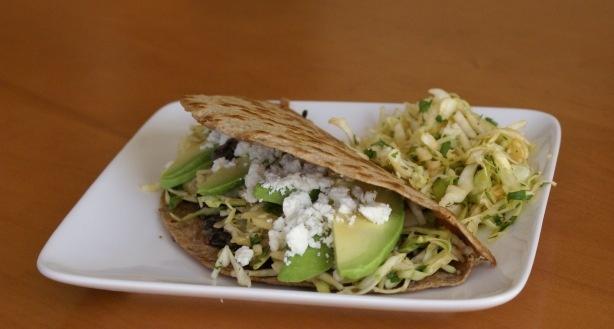 crispy black bean tacos and feta slaw | Dinner | Pinterest