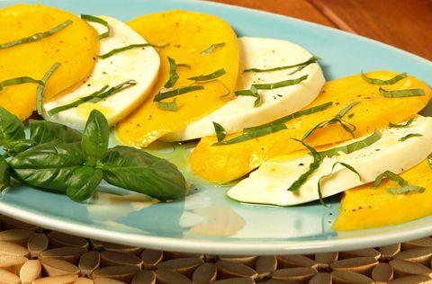 Mango Caprese Salad | Wine and Cheese | Pinterest
