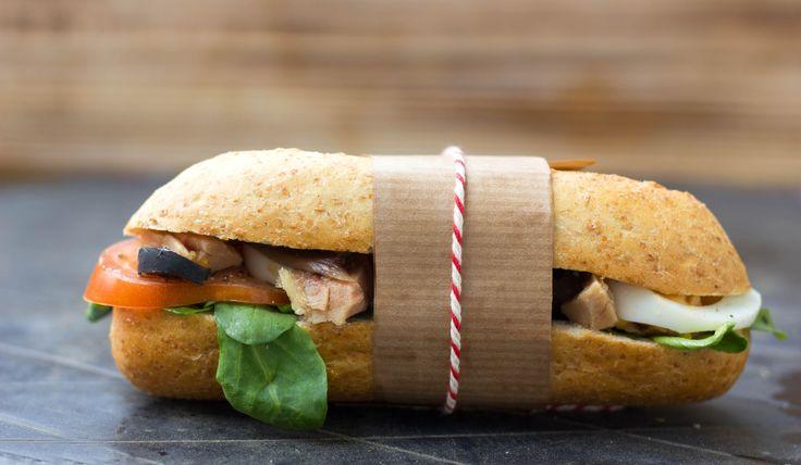 Tuna Niçoise Sandwich - Summer picnic