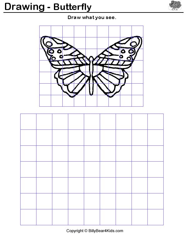 Grid Drawing Examples http://pinterest.com/pin/101542166571092529/