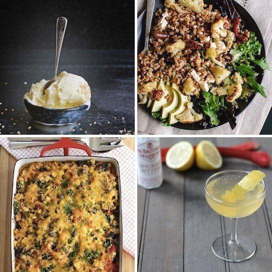 Cream – Milk and Honey Roasted Cauliflower and Farro Salad with Feta ...
