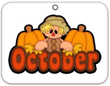 Month (October) | clip art | Pinterest