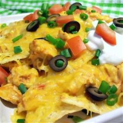 Restaurant Style Chicken Nachos | Style | Pinterest