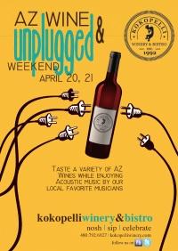 AZ WINE Unplugged Weekend April 20 & 21 - 2012