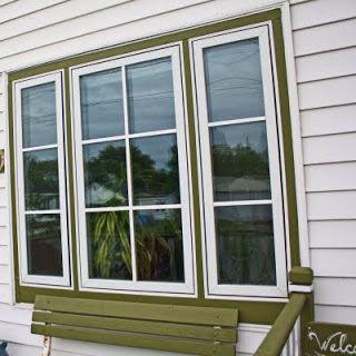 Fake exterior window