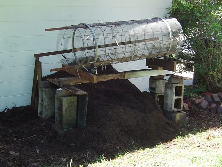 Rotary Compost Sifter | For the Home - Garden - Tools ...