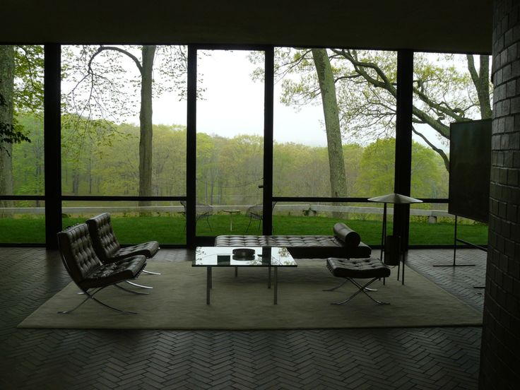 Philip johnson glass house architecture pinterest - Philip johnson glass house ...