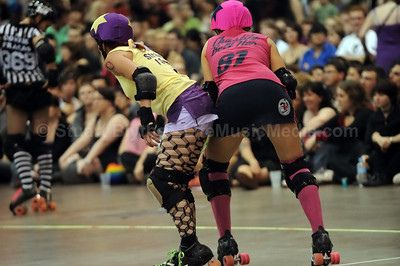 Roller Derby by lifemusicmedia, via Flickr   I want to be a derby girl so bad. But I can't handle rejection... :/