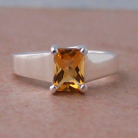 i love this citrine ring!