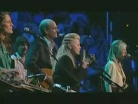 Dixie Chicks and James Taylor Sweet Baby James Live Concert.  He is such a humble guy.