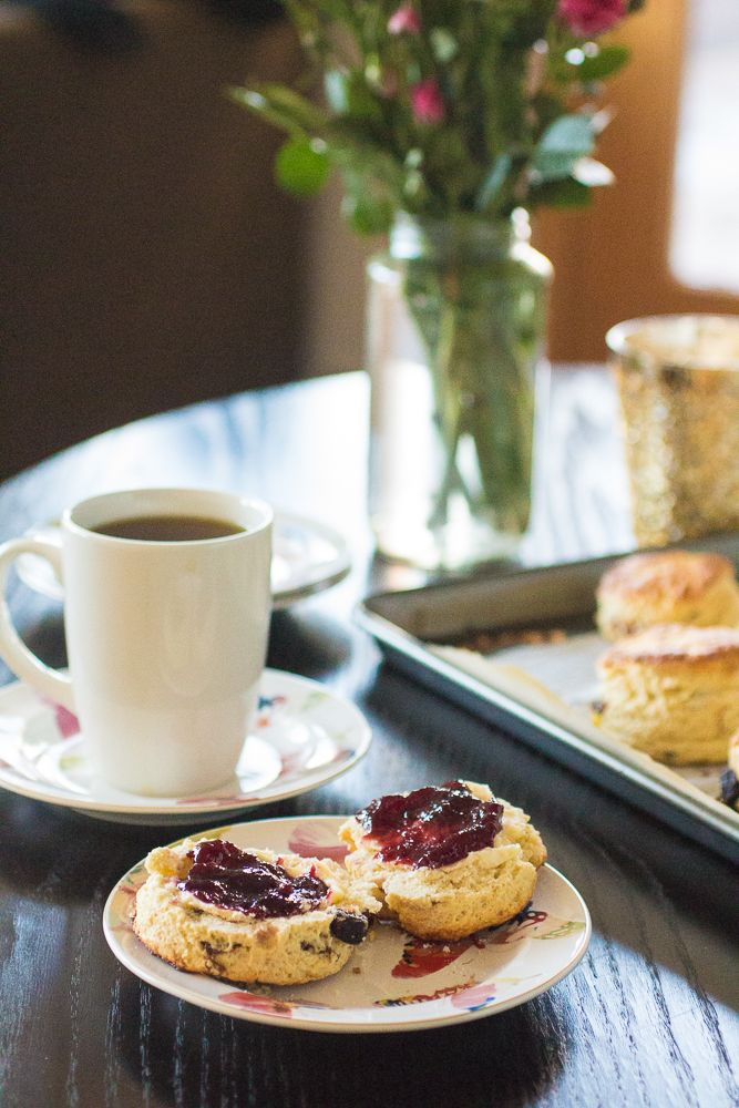 Raspberry Apricot Scones | Recipes / Sweets & Baked Goods | Pinterest