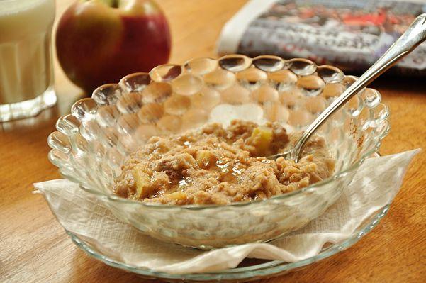 Apple Cinnamon Oatmeal..SO good!