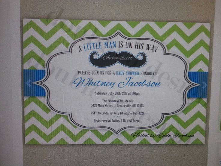 Little Man Baby Shower Invitations was best invitation example