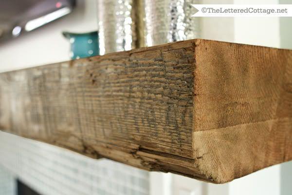 Diy Wooden Beam Mantel – Cal F Givens