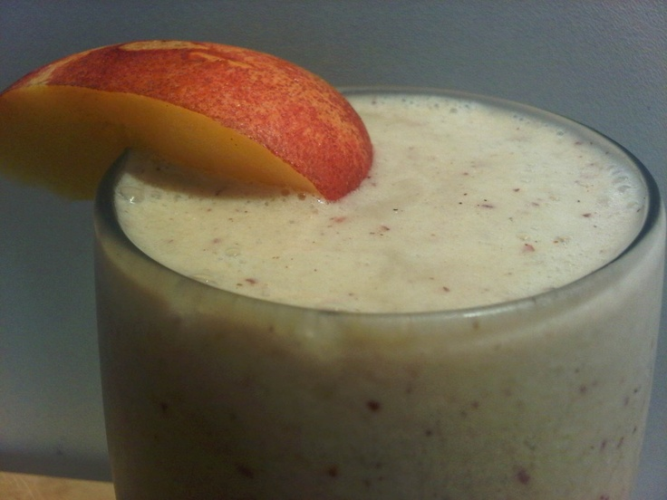 nectarine smoothie | to my health! | Pinterest