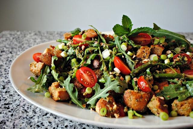 Spring Panzanella | Fabulous Foods | Pinterest