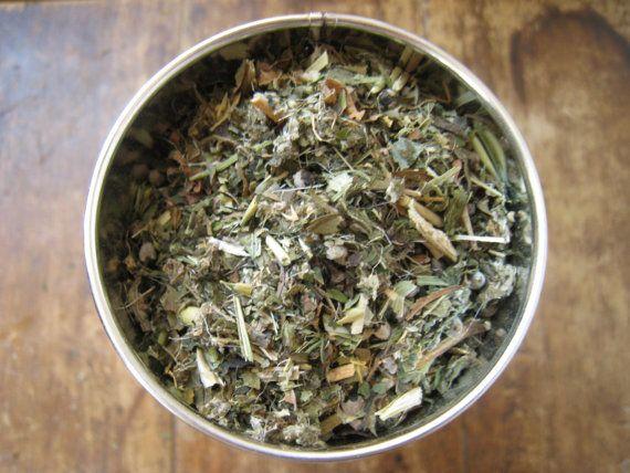 Women's Vitality Herbal Tea Blend by FrugallySustainable on Etsy, $10.00