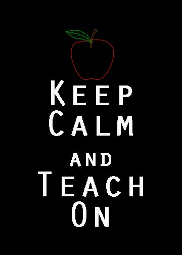 Keep Calm Freebie for Teachers