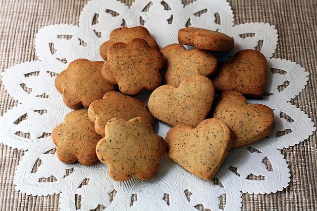 Earl Grey Tea Cookies | YUM! | Pinterest
