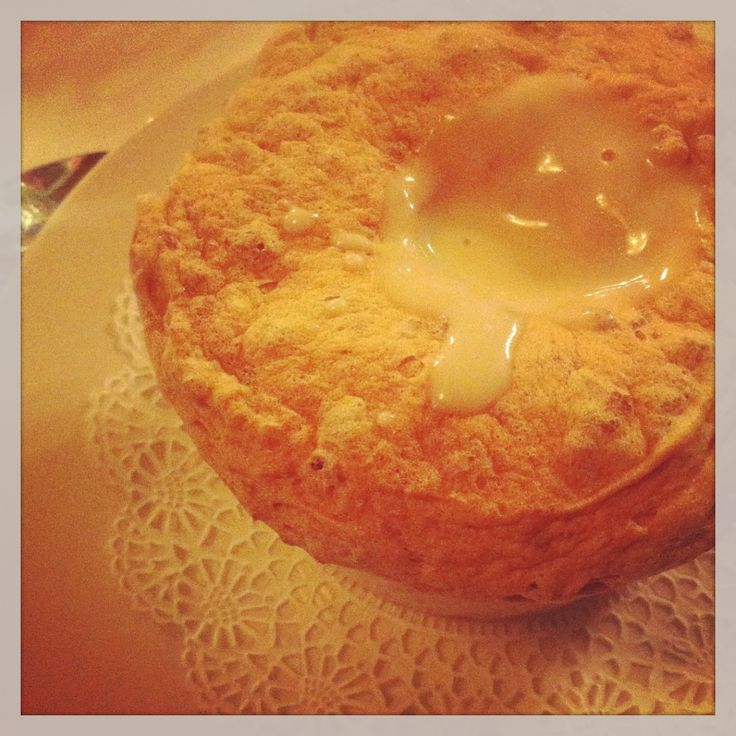 ... - {Bread Pudding Souffle with Whiskey Sauce at Commander's Palace